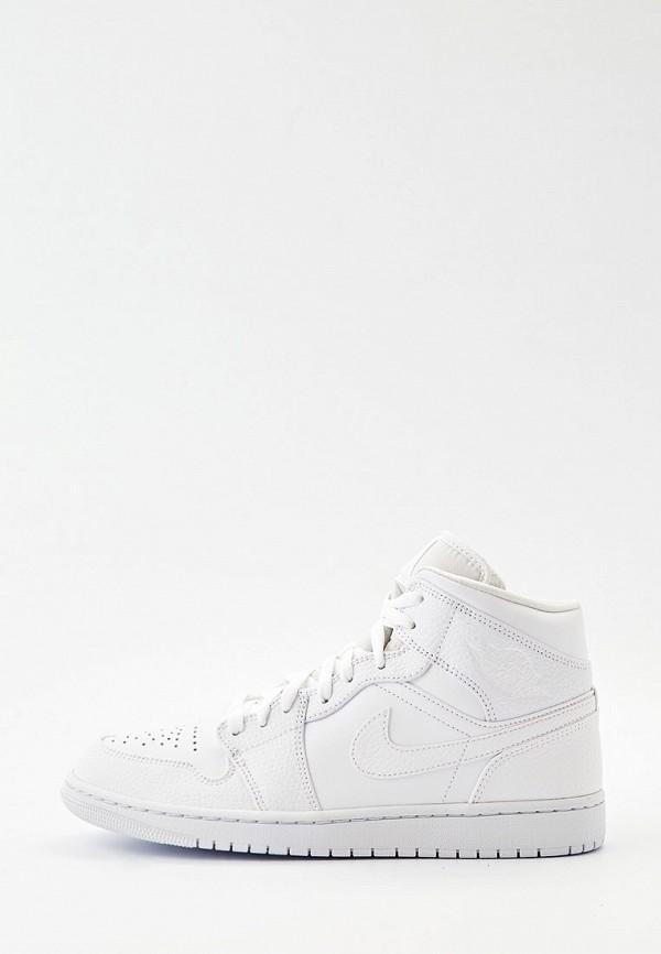 Кеды Jordan AIR 1 MID. Цвет: белый