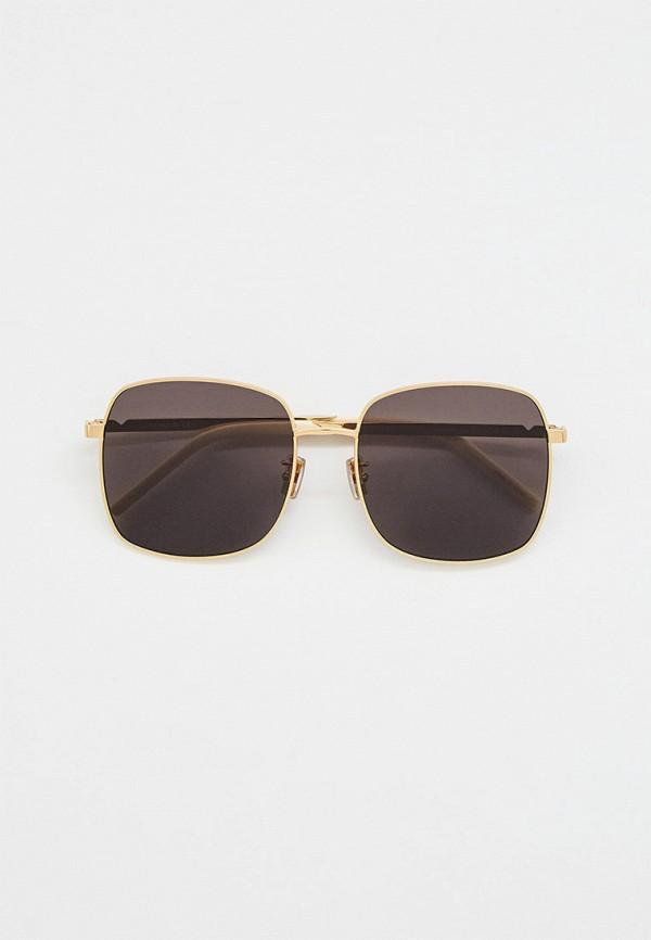 женские квадратные солнцезащитные очки kenzo, бежевые
