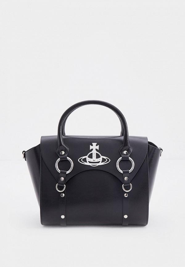 Сумка Vivienne Westwood черного цвета