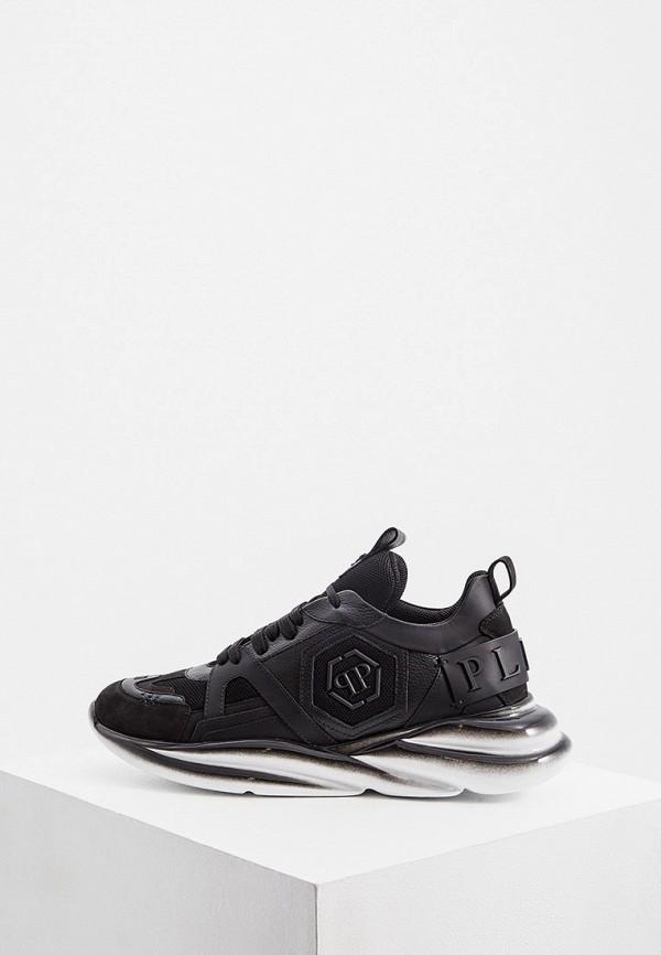 мужские низкие кроссовки philipp plein, черные