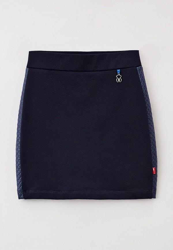 юбка nota bene для девочки, синяя