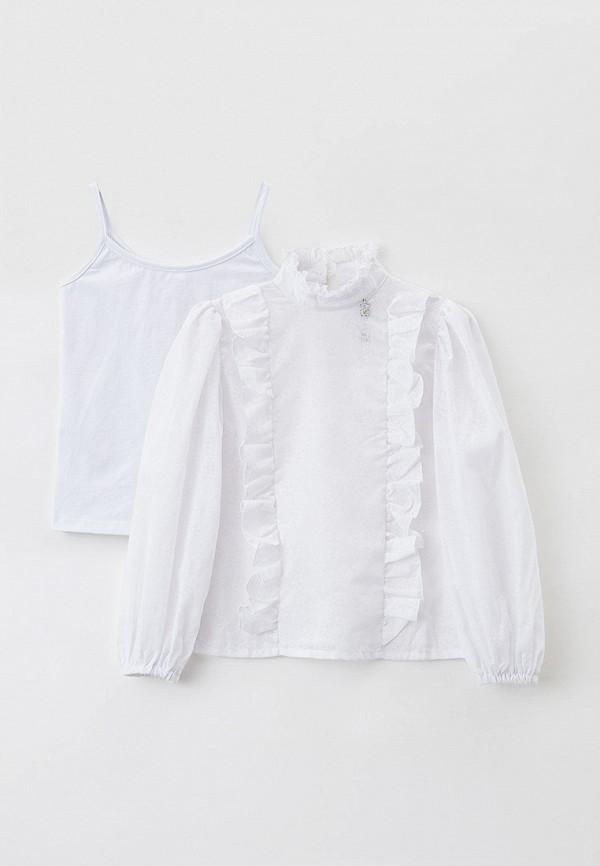 Блуза и топ Nota Bene белого цвета