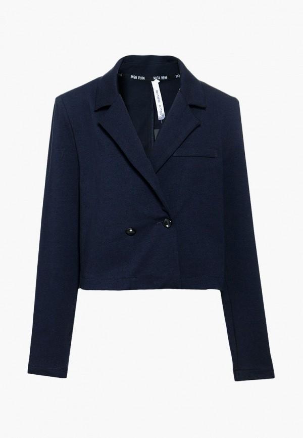 Пиджак Nota Bene синего цвета