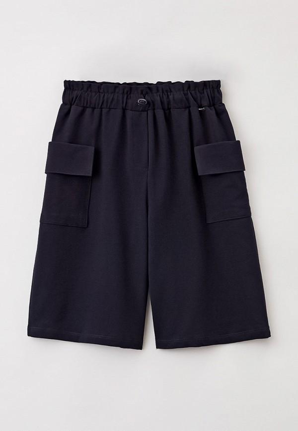 спортивные шорты nota bene для девочки, синие
