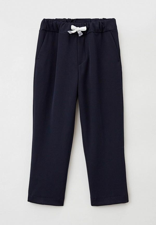 брюки nota bene для мальчика, синие