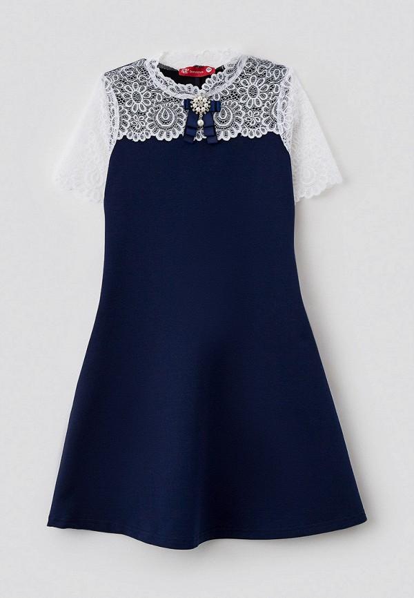 повседневные платье t&k для девочки, синее