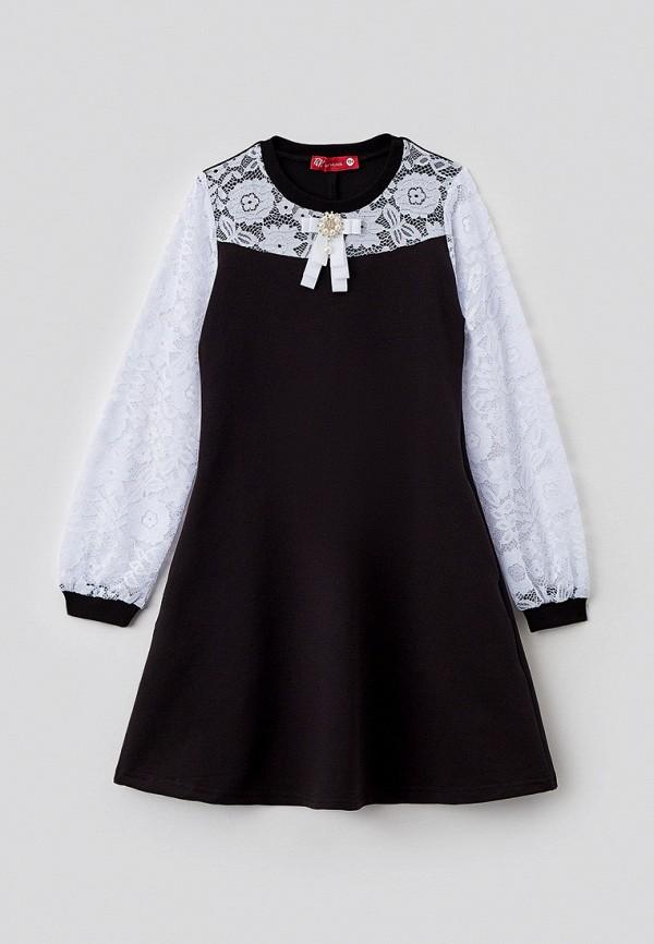 повседневные платье t&k для девочки, черное