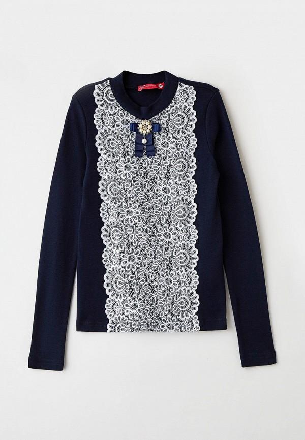 блузка t&k для девочки, синяя