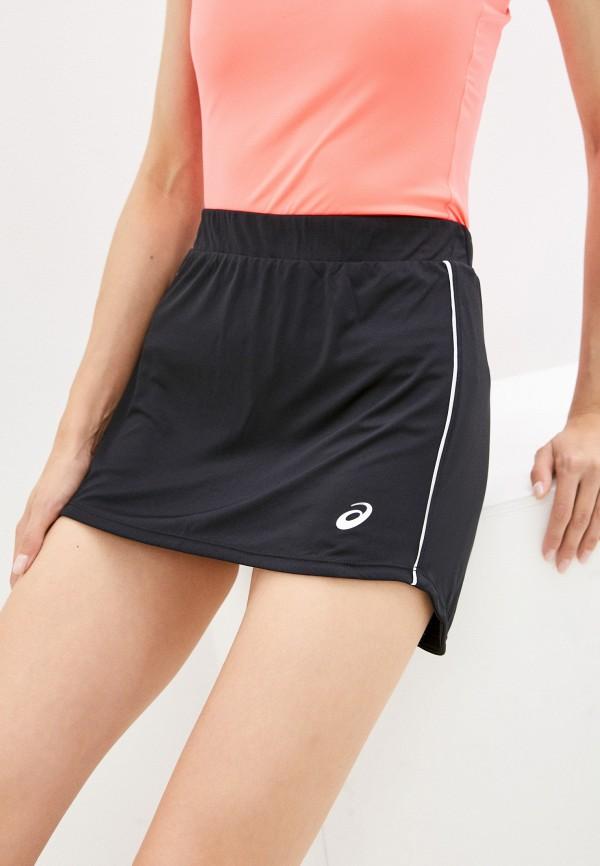 женская спортивные юбка asics, черная