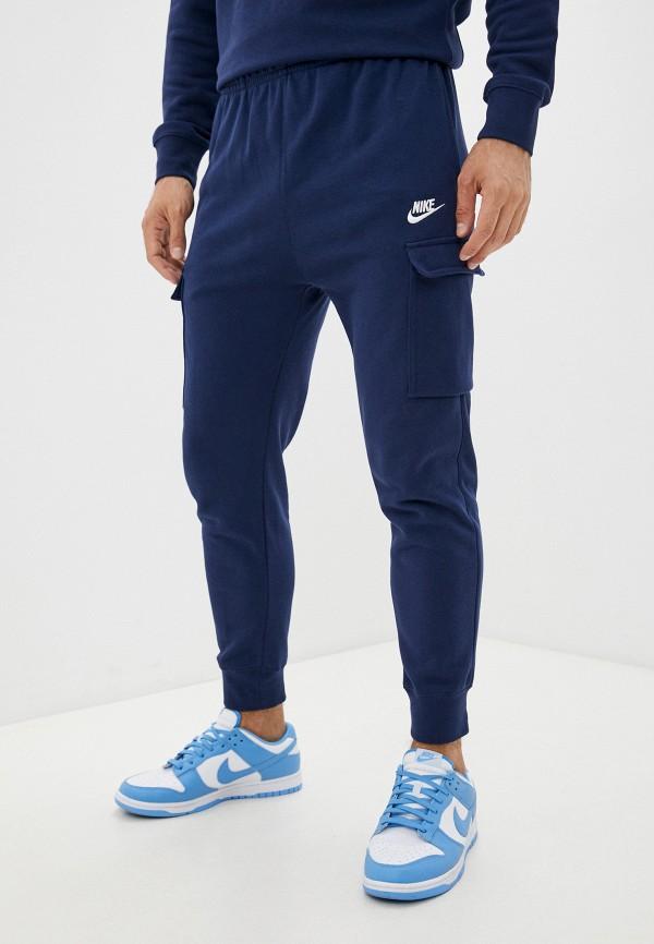 мужские спортивные брюки nike, синие