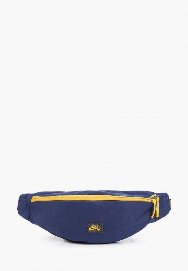 женская поясные сумка nike, синяя