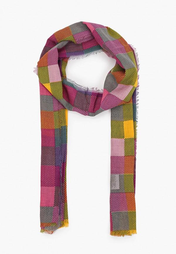 женский палантин united colors of benetton, разноцветный