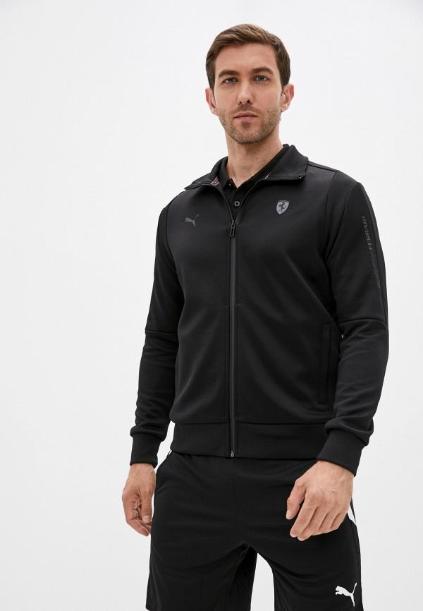 Олимпийка PUMA, Черный, Ferrari Style T7 Track Jacket