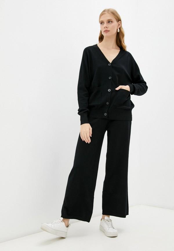 женский вязаные костюм moki, черный