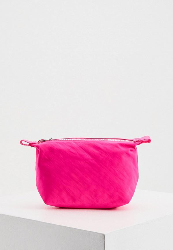 женская косметичка bimba y lola, розовая