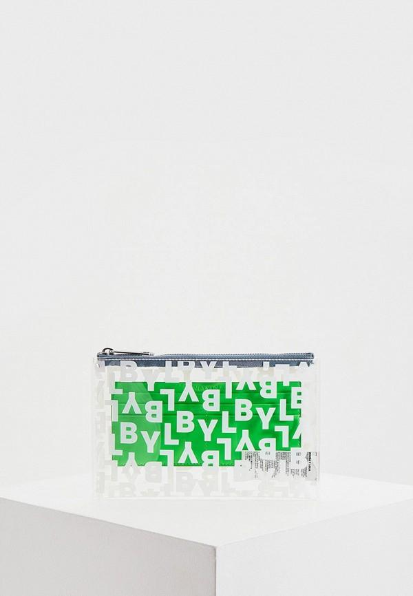 женский клатч bimba y lola, зеленый
