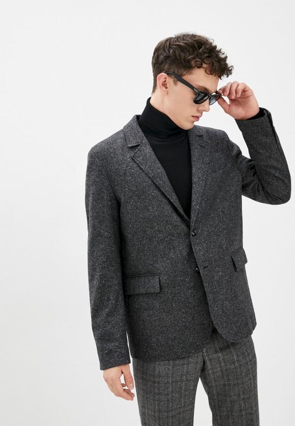 мужской пиджак trussardi, серый