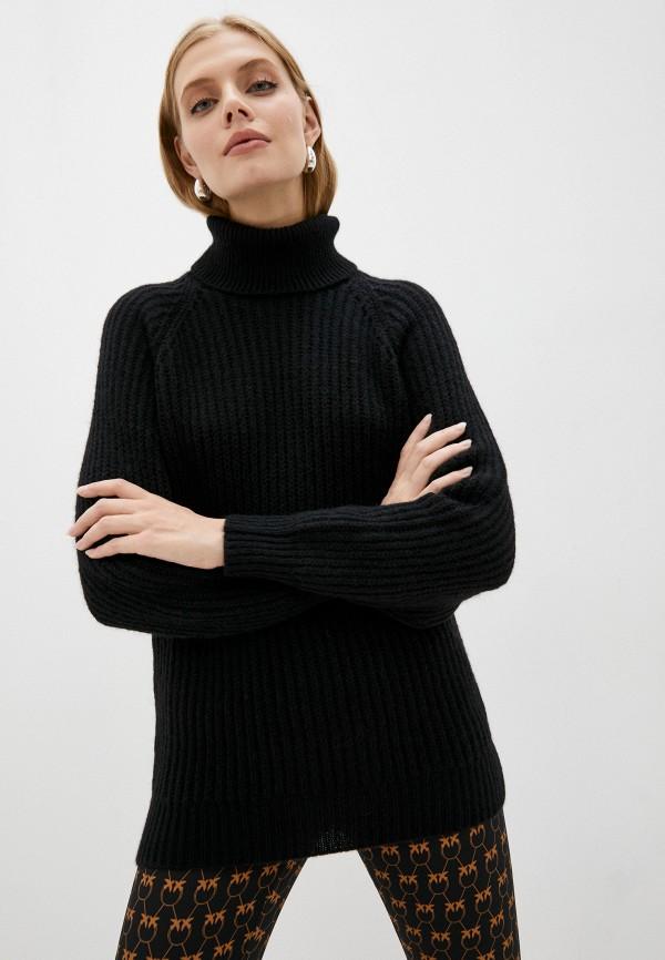 женский свитер trussardi, черный