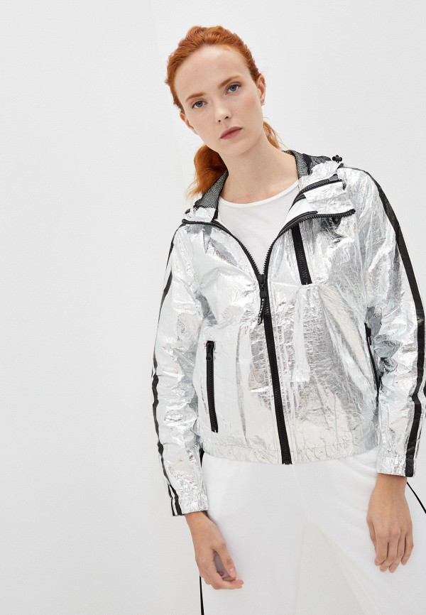 женская легкие куртка richmond sport, серебряная