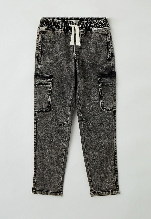 джинсы button blue для мальчика, серые