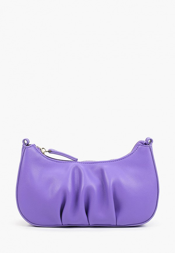женская сумка через плечо baggini, фиолетовая