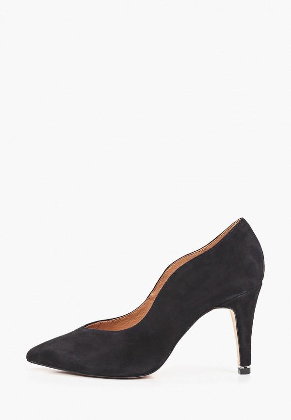 женские туфли-лодочки caprice, черные