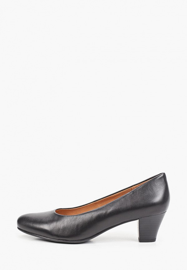 Туфли Caprice черного цвета