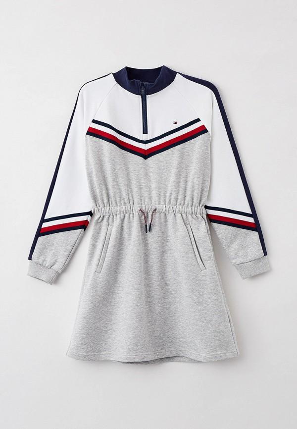 Платье Tommy Hilfiger серого цвета