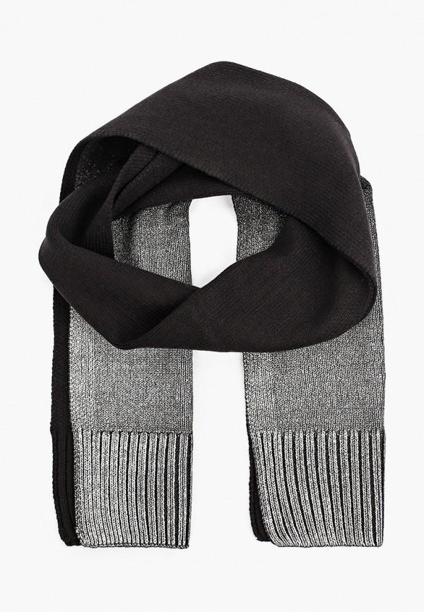 шарф gulliver для девочки, черный