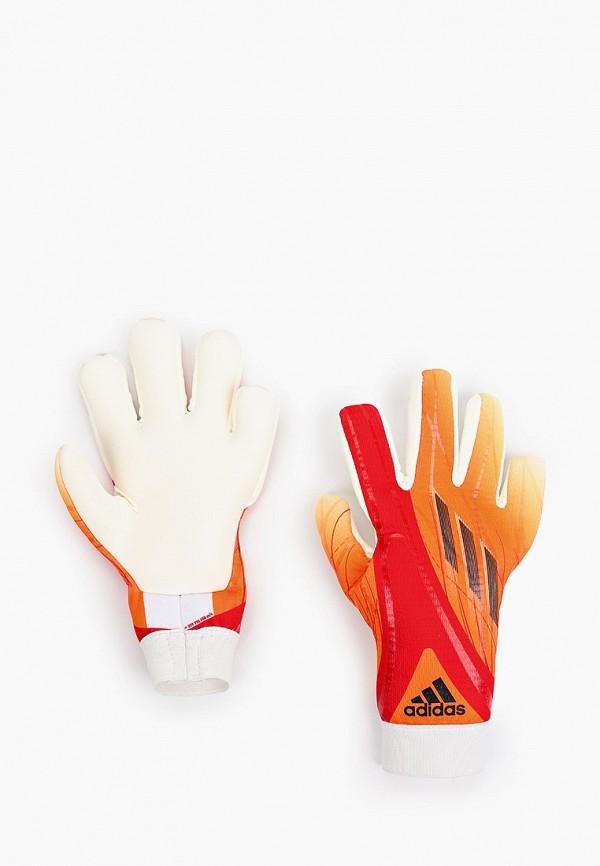перчатки adidas для мальчика, оранжевые