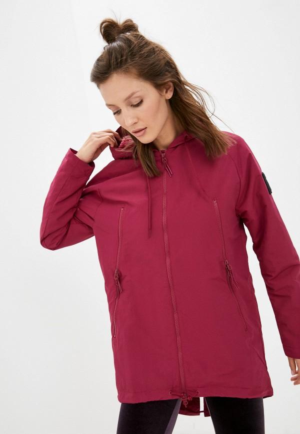 Куртка Reebok бордового цвета
