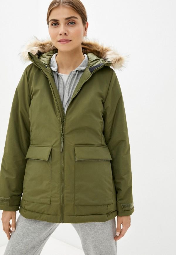 женская спортивные куртка adidas, хаки