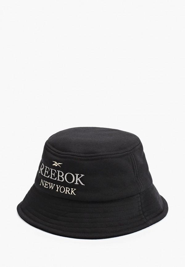 женская панама reebok classic, черная