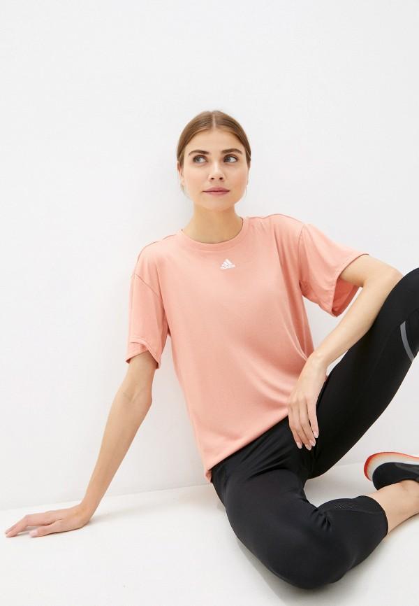 женская спортивные футболка adidas
