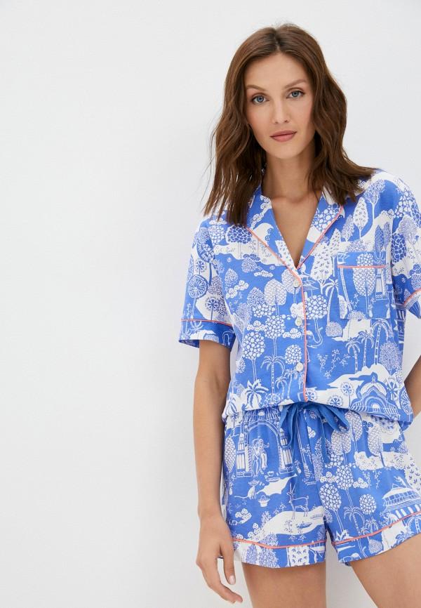 женская пижама women'secret, синяя