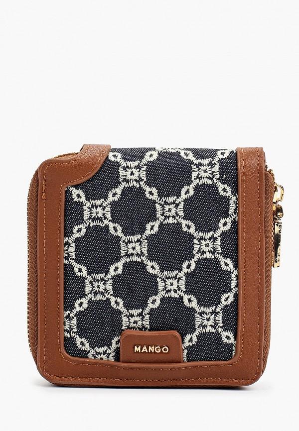 женский кошелёк mango, синий