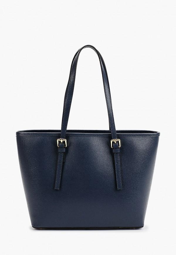 женская сумка-шоперы roberta rossi, синяя