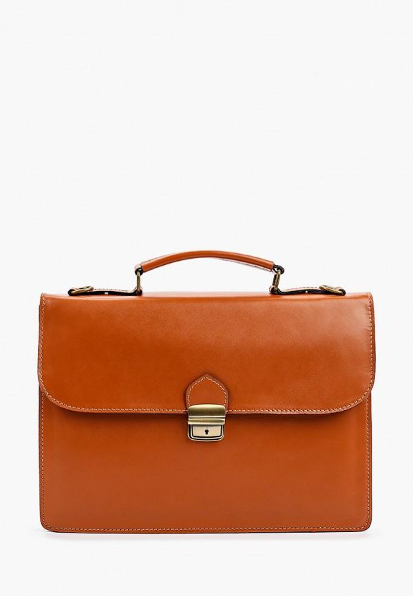 мужской портфель roberta rossi, коричневый