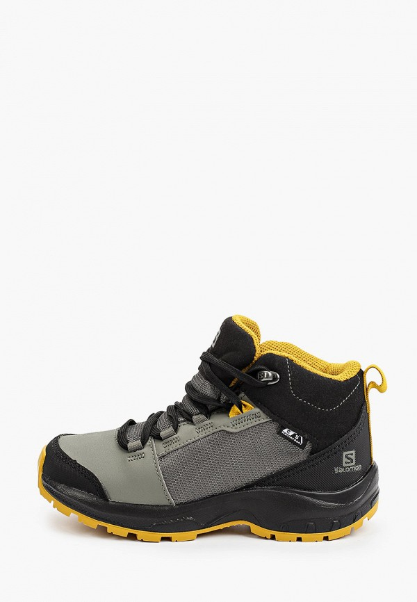 ботинки salomon для мальчика, разноцветные