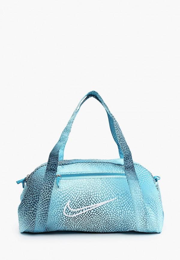 женская спортивные сумка nike, голубая
