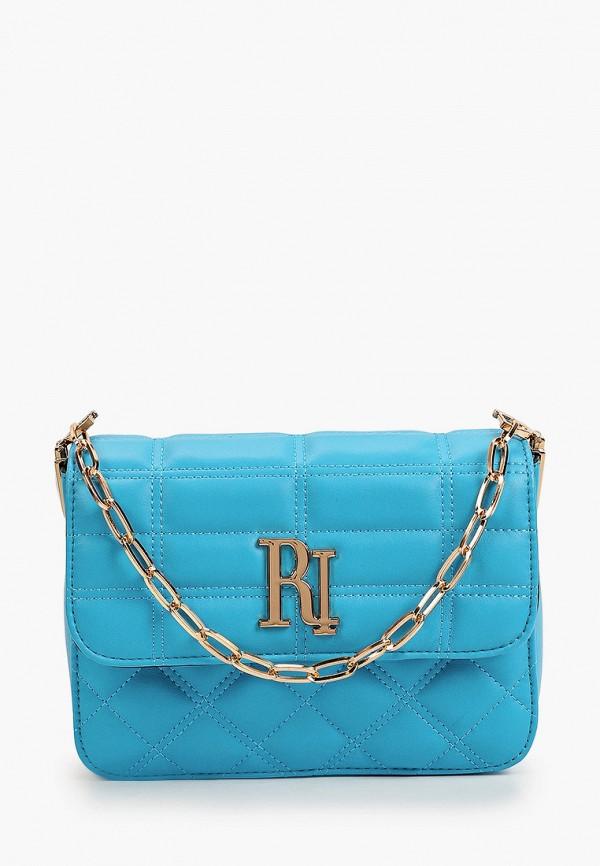 женский кошелёк с ручками river island, голубой