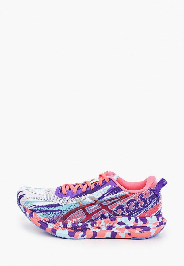 женские низкие кроссовки asics, разноцветные