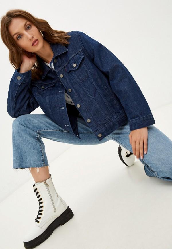 Куртка джинсовая Levi's® Levi's® синего цвета