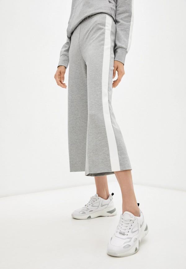 женские брюки кюлоты deha, серебряные