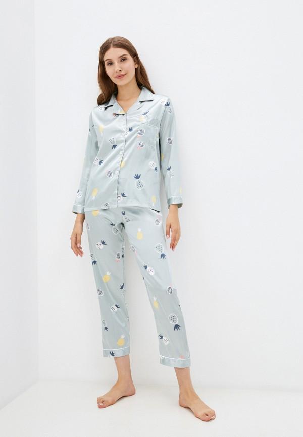 Пижама SleepShy зеленого цвета