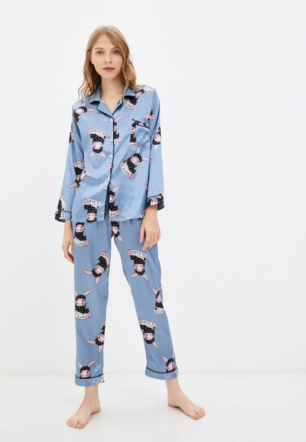 Пижама SleepShy голубого цвета