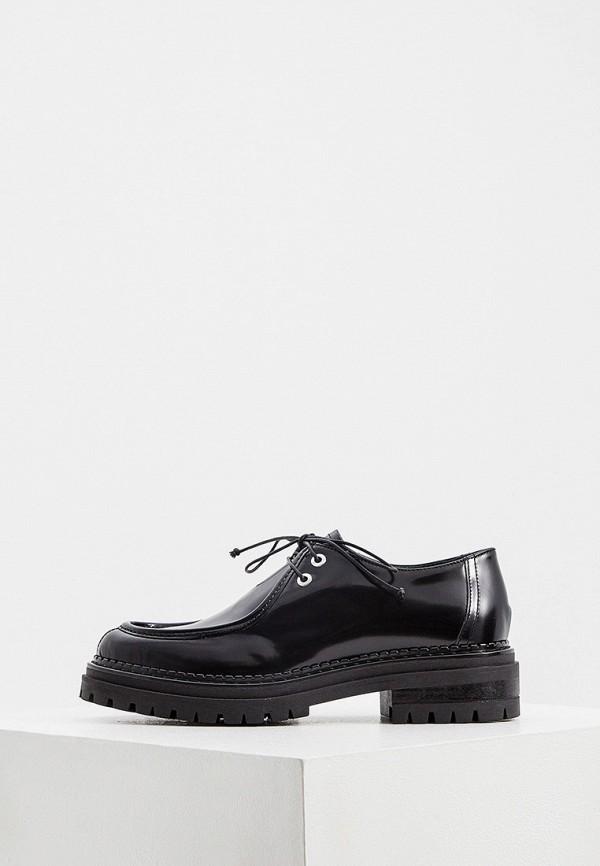 женские низкие ботинки principe di bologna, черные