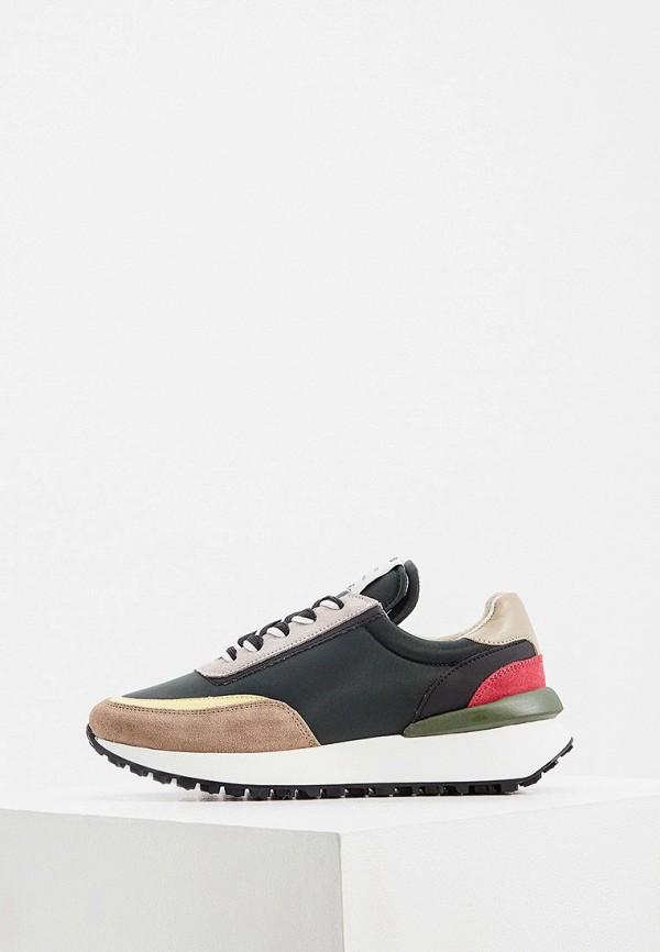 женские низкие кроссовки principe di bologna, разноцветные