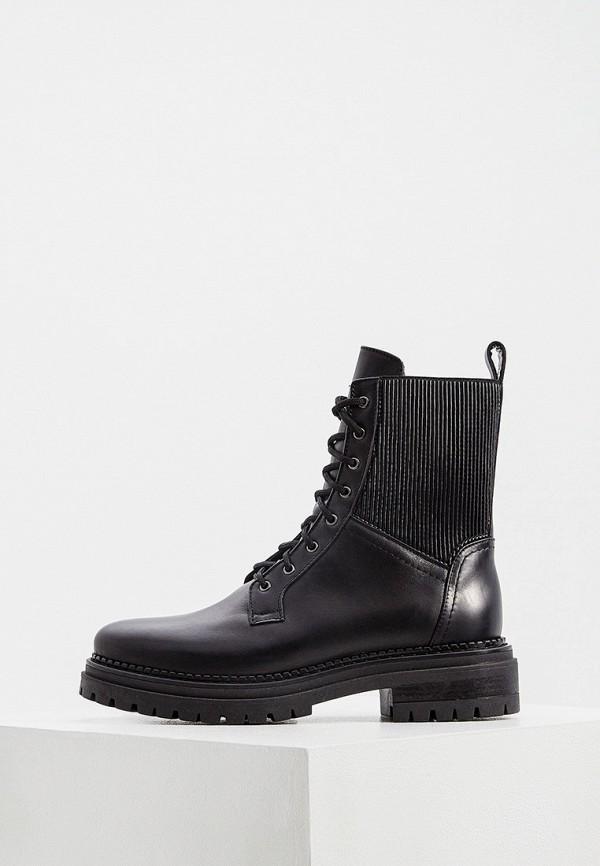 женские высокие ботинки principe di bologna, черные