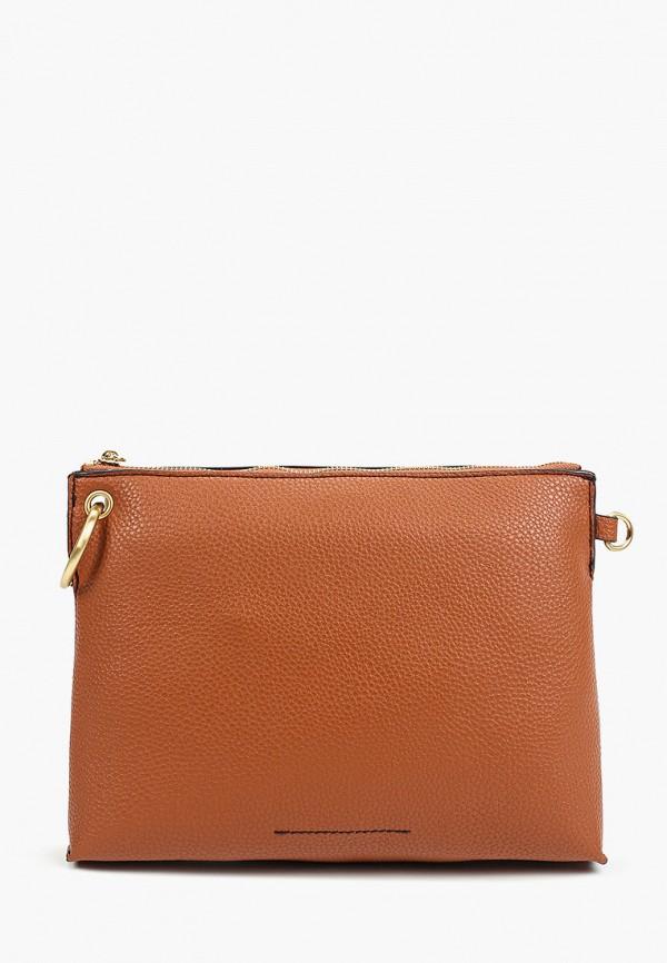 женская сумка marks & spencer, коричневая